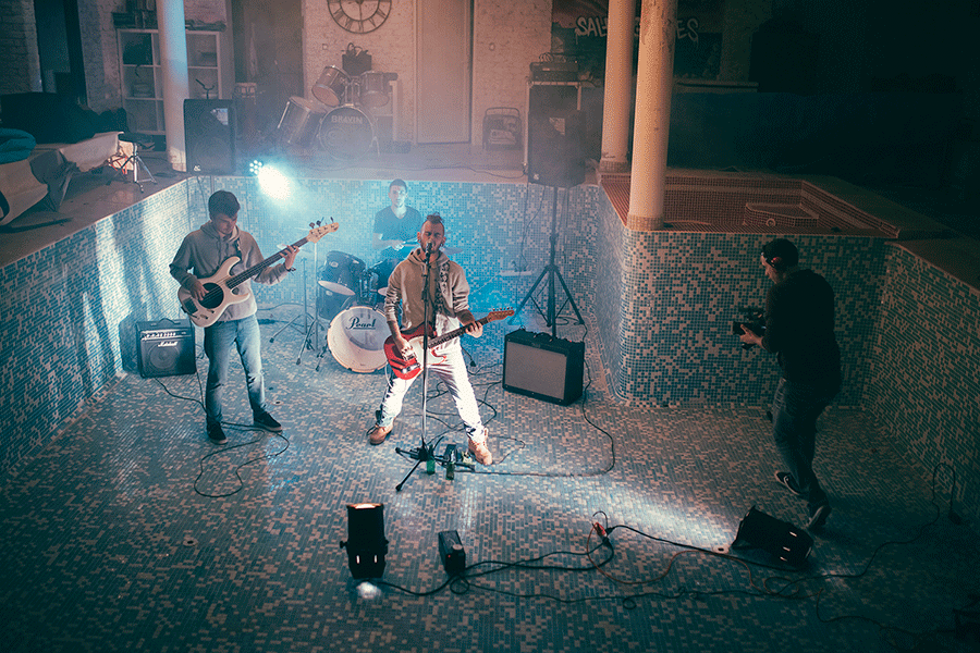 Réalisation clip de musique punk Toulon Néoules