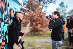 Réalisation video clip de musique Toulon néoules