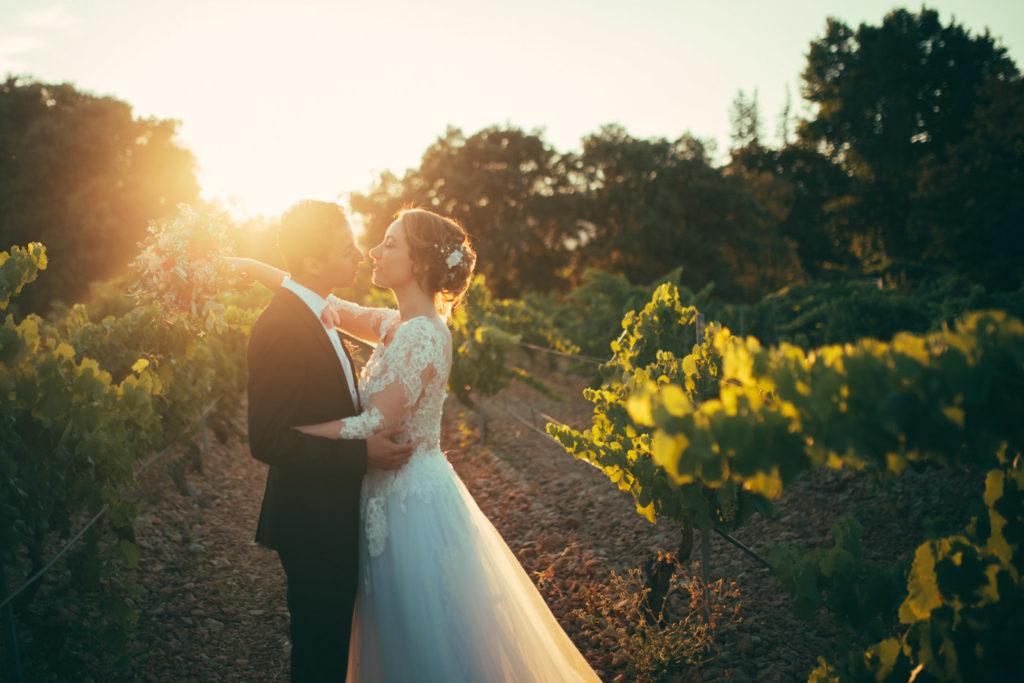 photographe de mariage au mas du lingousto à cuers