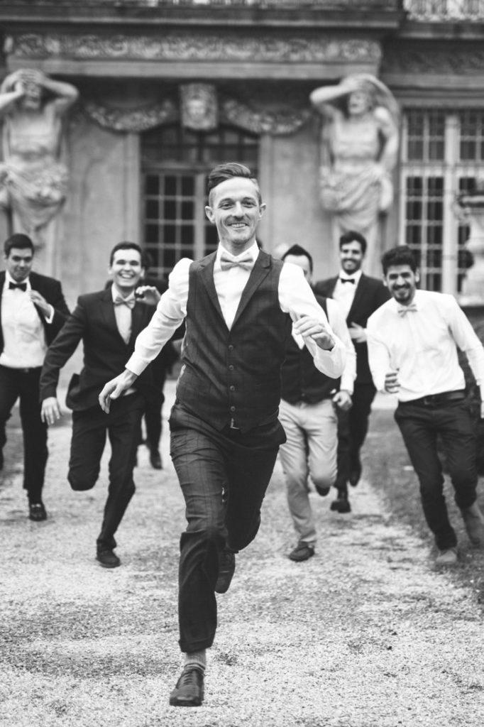 photo de mariage originale pavillon vendome à aix en provence