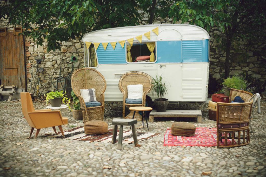 décoration et mobilier pour mariage sur la presqu'île de real plantain