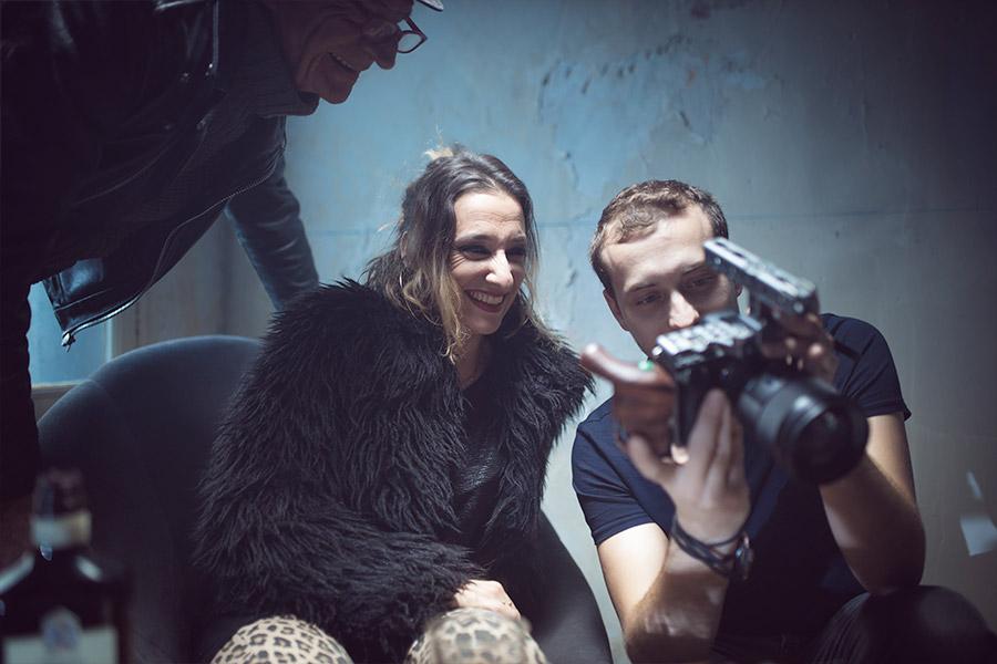 making of vidéaste du tournage du clip de musique à toulon pour raoul petite