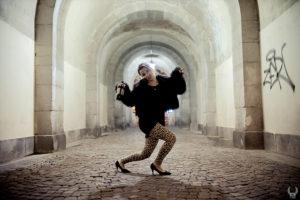 photo making of du tournage du clip de musique à toulon pour raoul petite en pleine rue porte d'italie