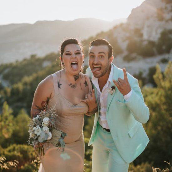 Vidéo de mariage rock et atypique à Toulon