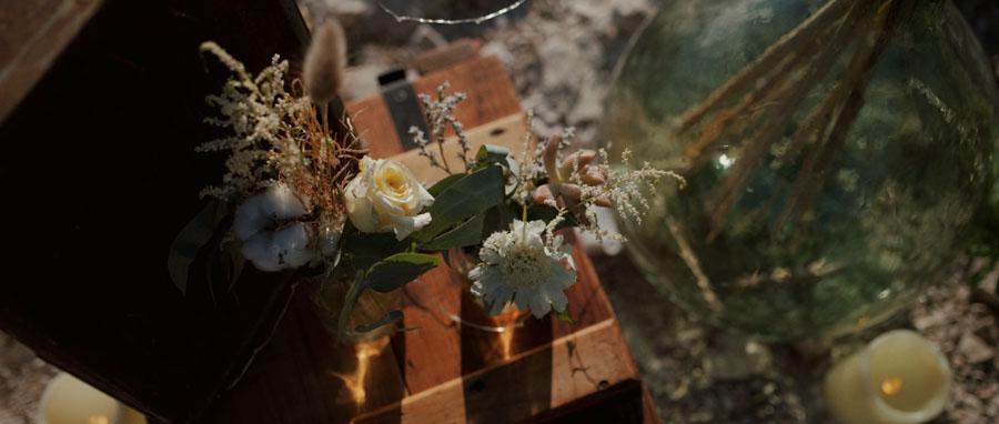 Vidéo Mariage alternatif Toulon Var Provence fleurs séchées