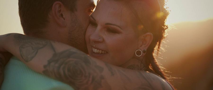 Vidéo Mariage rock Toulon Var Provence séance couple dans la nature