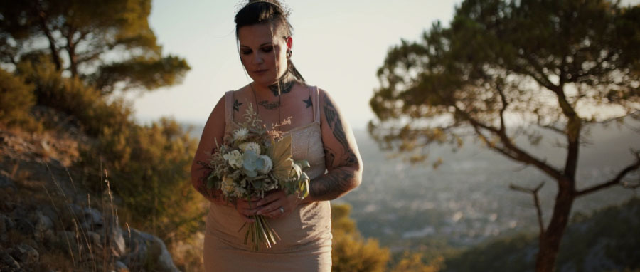 Vidéo Mariage alternatif Toulon Var Provence et tatouages