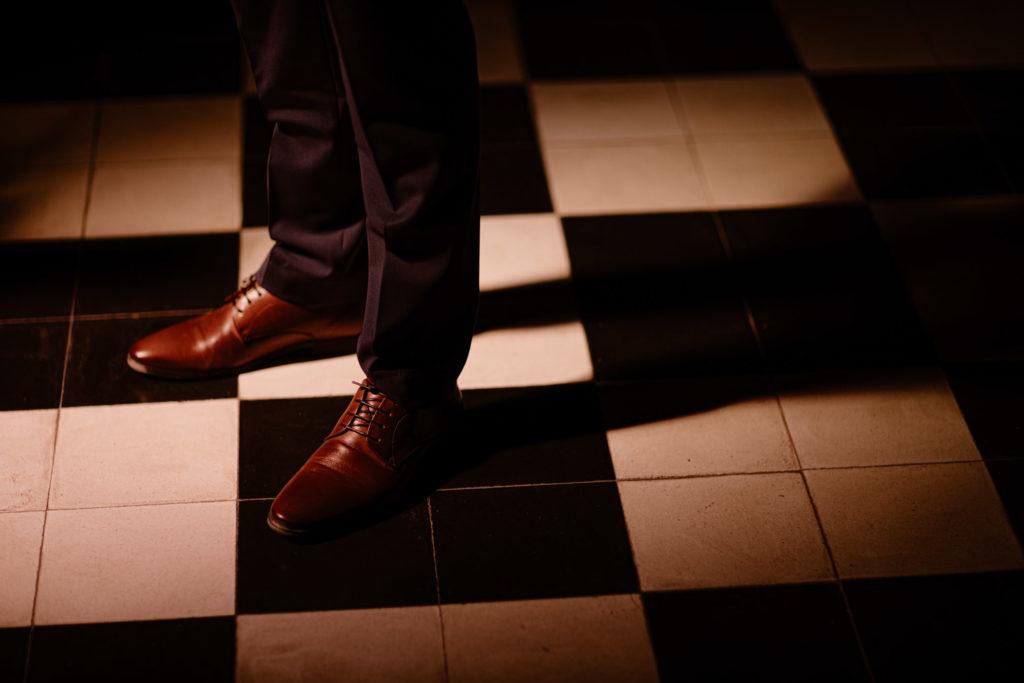Paires de chaussures homme pour mariage