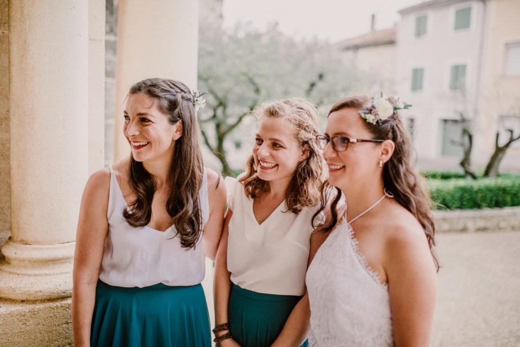 photographe de mariage orthodoxe en provence avec les témoins