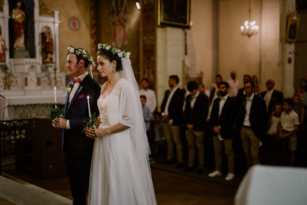photographe de mariage en église orthodoxe en provence