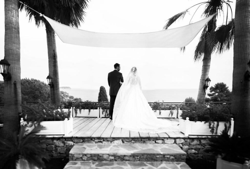 photographe de mariage aux pins penchés à toulon et sur la côte d'azur