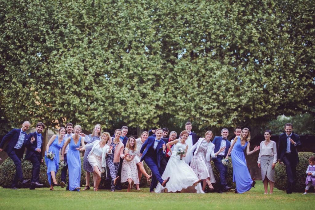 photographe mariage à aix en provence pavillon vendome photo de groupe