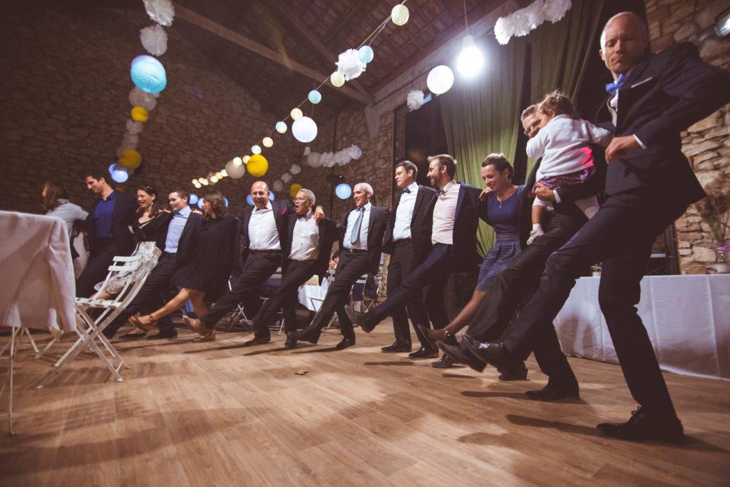 danse dans la salle de mariage de la presqu'île de real plantain