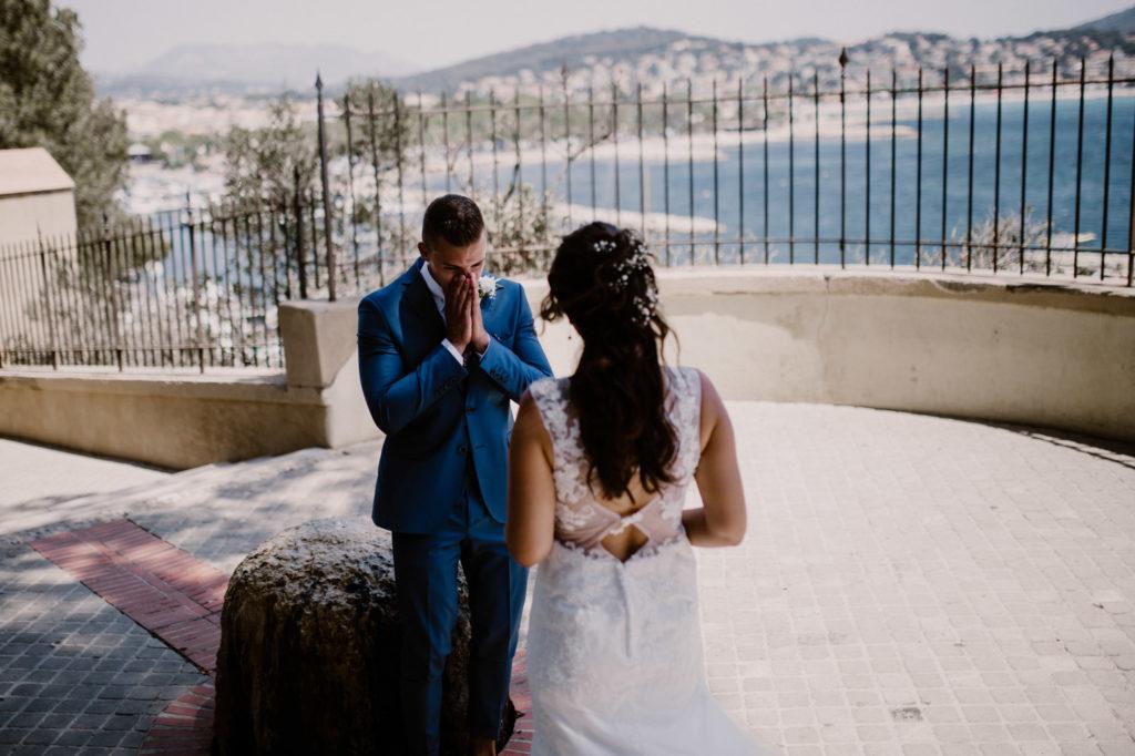 mariage à six fours découverte de la mariée
