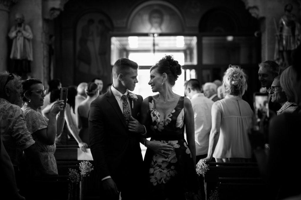photographe de mariage à six-fours église