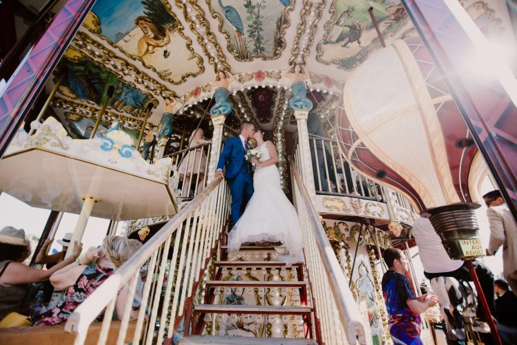 photographe de mariage à six-fours carousel
