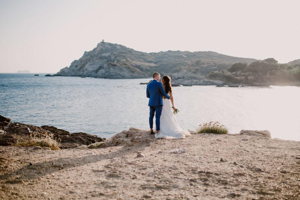 photographe de mariage île du gaou couple