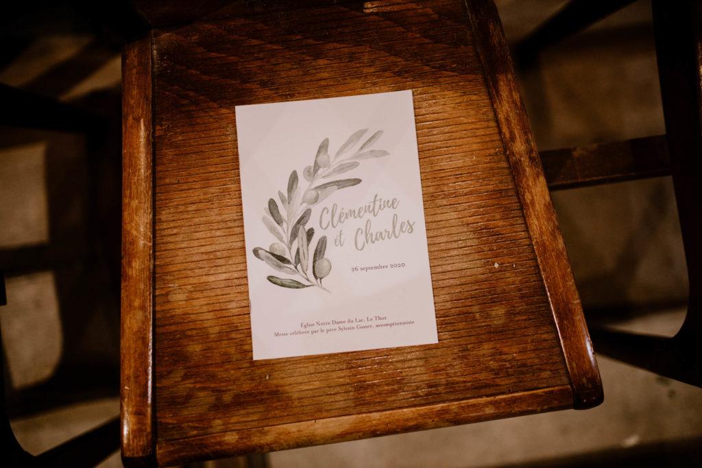 faire part pour un mariage en provence