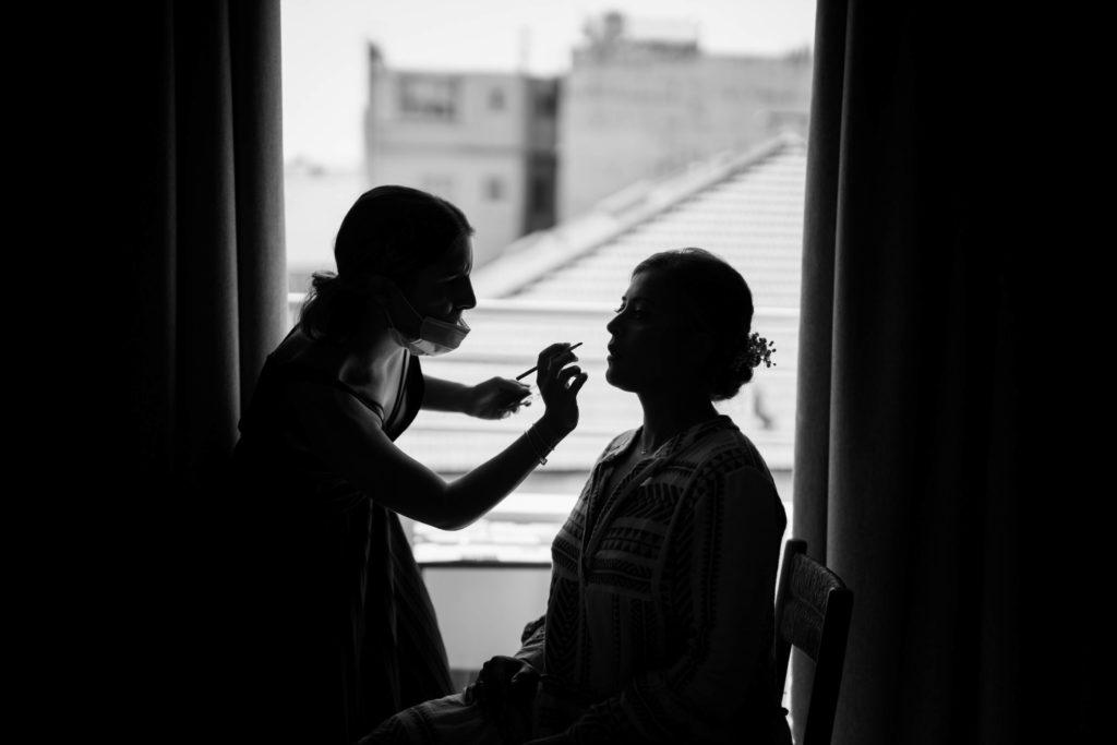 séance maquillage pour un mariage à nice