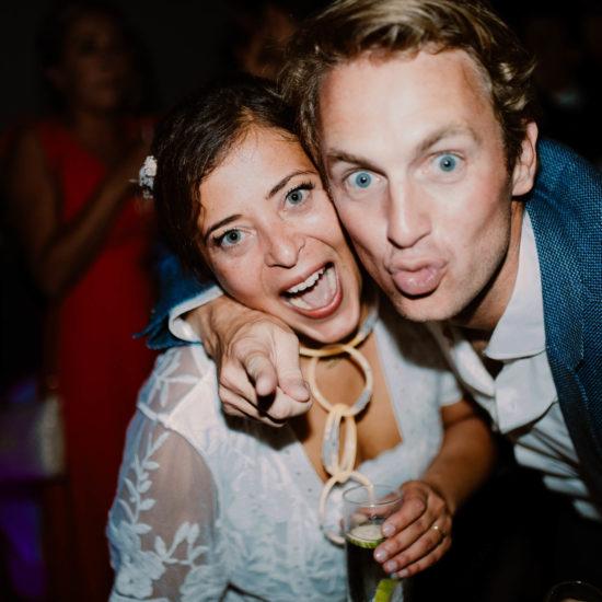 photo de soirée de mariage au mont leuze