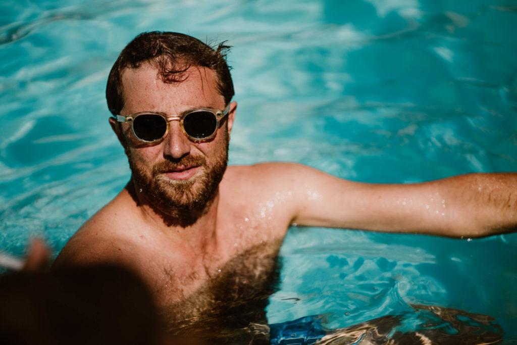 témoin mariage brunch piscine